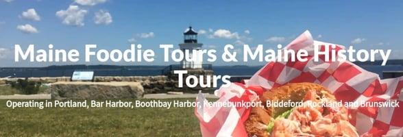 Screenshot of Maine Foodie Tours