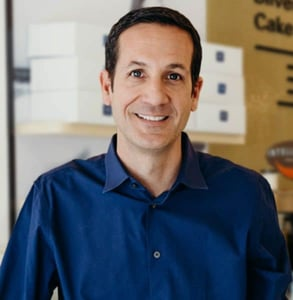 Photo of John Hensley, Owner of Lark Cake Shop