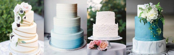 Photo of Lark wedding cakes