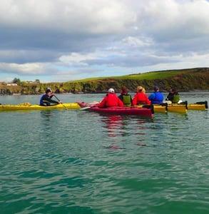 Photo of a kayak tour