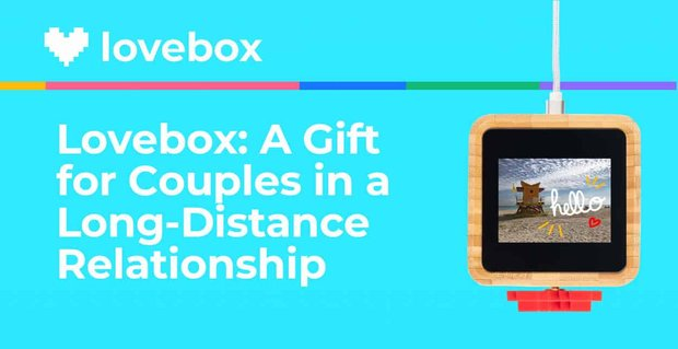 Lovebox Sentimental Gifts For Long Distance Couples