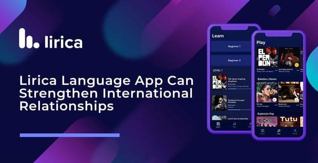 Lirica Jams Can Strengthen International Relationships
