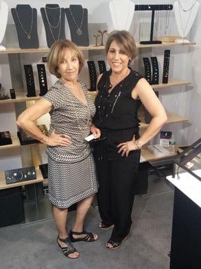 Photo of Alef Bet's Paula Brooks and Alissa Haroush