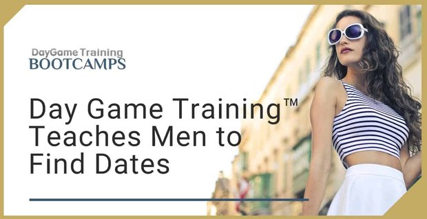 Day Game Training Teaches Men How To Approach Women