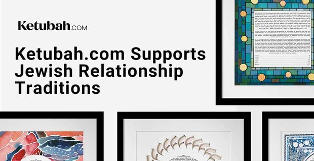 Ketubah Supports Jewish Relationship Traditions