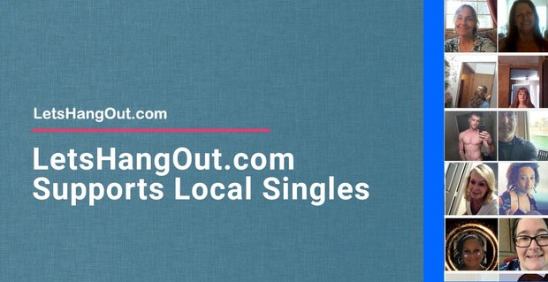 Lets Hang Out Supports Singles For Free