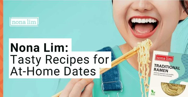 Nona Lim Shares Recipes For At Home Dates