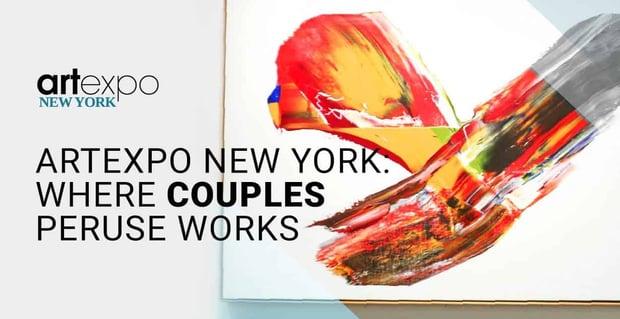 Artexpo New York Allows Couples To Peruse Artwork On Dates