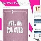 Star Wars Pickup Lines