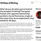 DA40DaysofDating