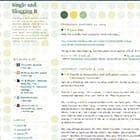 DASingleAndBloggingIt