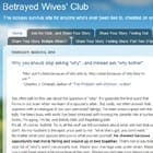 Betrayed Wives Club