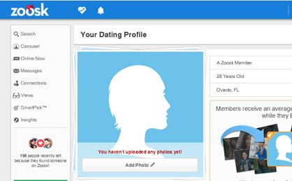Zoosk.com Other Features