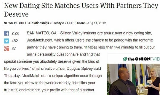 New Dating Site Matches Users With Partners They Deserve