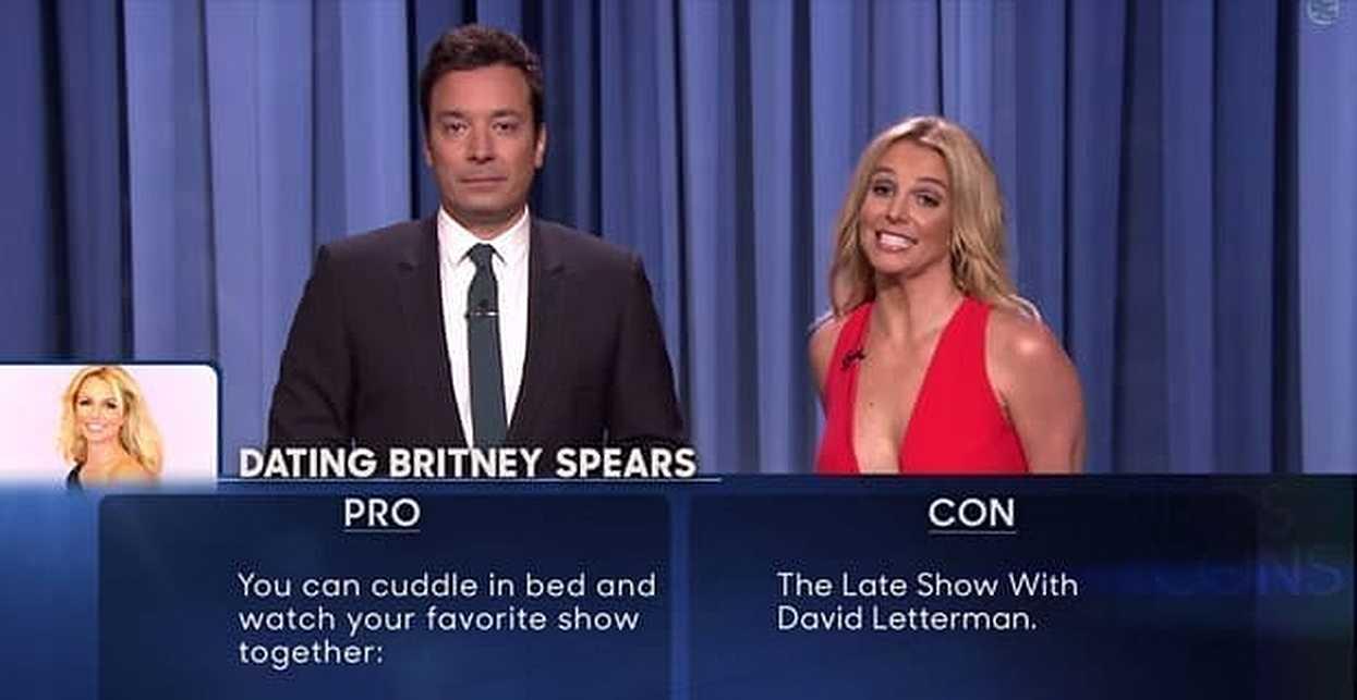 Jimmy Fallon dating Britney Spears intervjuer om online dating