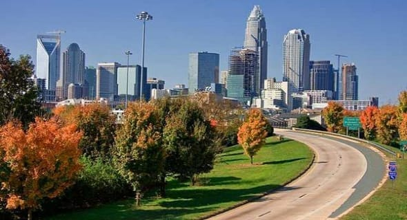4. Charlotte, North Carolina — 117,949 single men