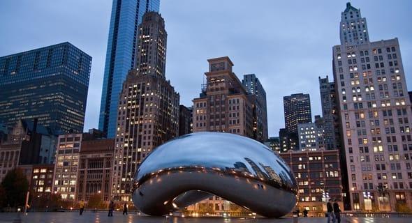 3. Chicago, Illinois - 495,661 single women