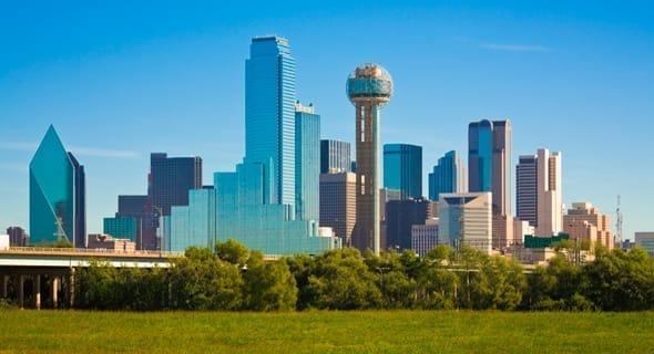 9. Dallas, Texas - 197,455 single women
