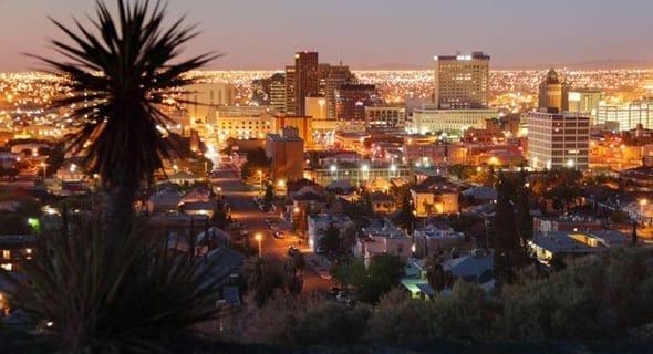 15. El Paso, Texas — 91,939 single men