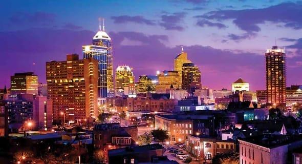 14. Indianapolis, Indiana - 142,147 single women