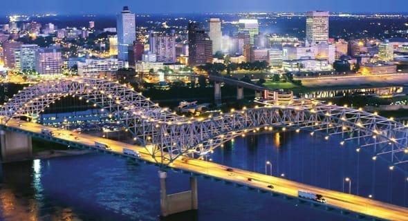 5. Memphis, Tennessee — 113,292 single men