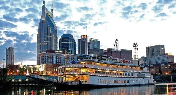 13. Nashville, Tennessee — 99,391 single men