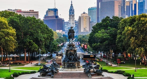 5. Philadelphia, Pennsylvania - 295,226 single women
