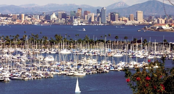 7. San Diego, California - 236,251 single women
