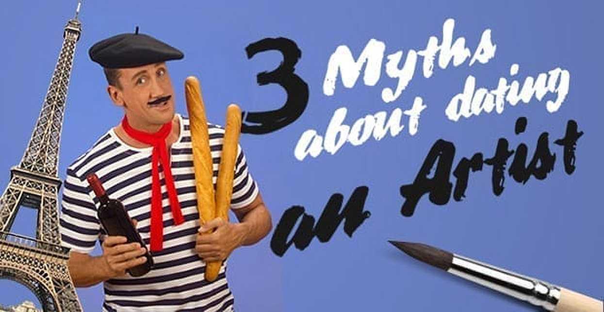 3 Myths About Dating an Artist