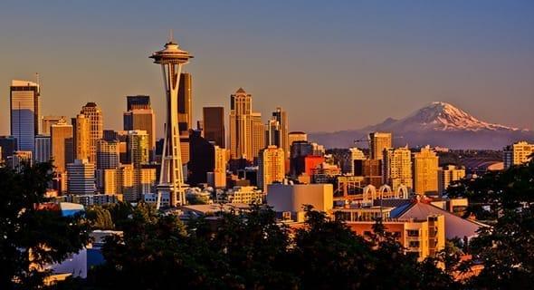 3. Seattle, Washington — 118,412 single men