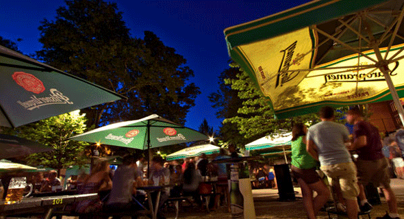 3. The Beer Garden at Bohemian Hall