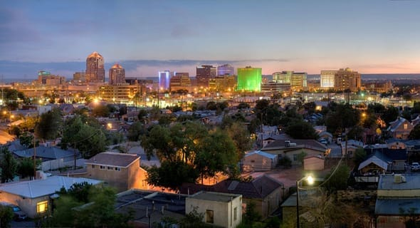 6. Albuquerque, New Mexico