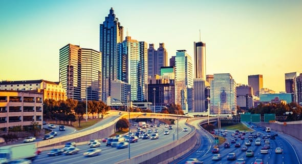 8. Atlanta, Georgia