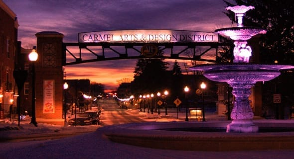 11. Carmel, Indiana — 31,793 singles