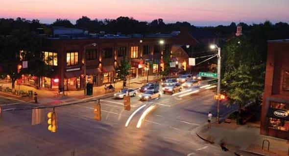 5. Chapel Hill, North Carolina — 39,359 singles
