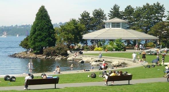 3. Kirkland, Washington — 41,371 singles
