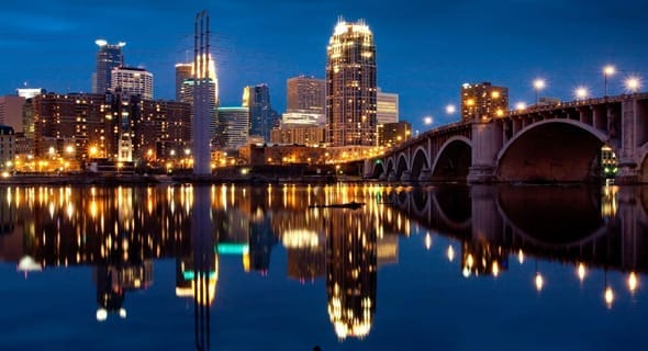 3. Minneapolis, Minnesota