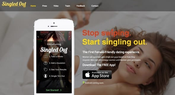 Photo of Singledout's homepage