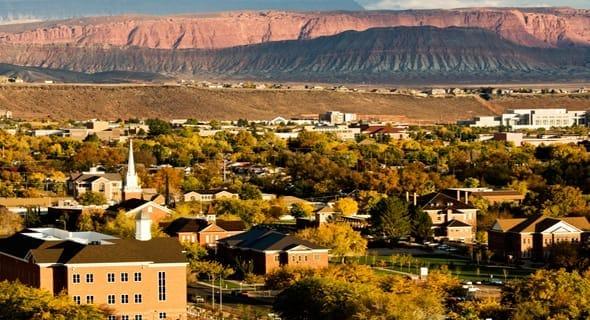15. St. George, Utah — 30,727 singles