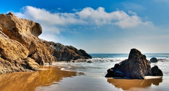 Malibu, Beach, California