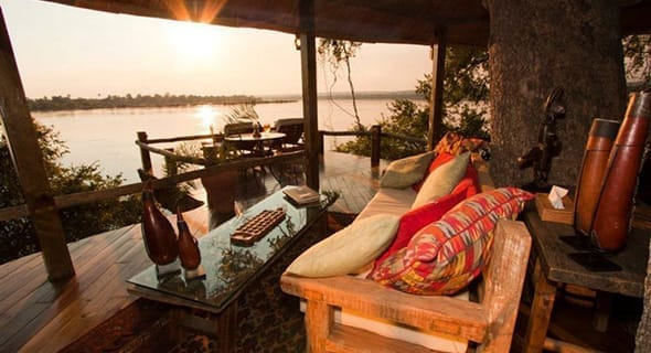 Livingston, Zambia: Tongabezi Lodge
