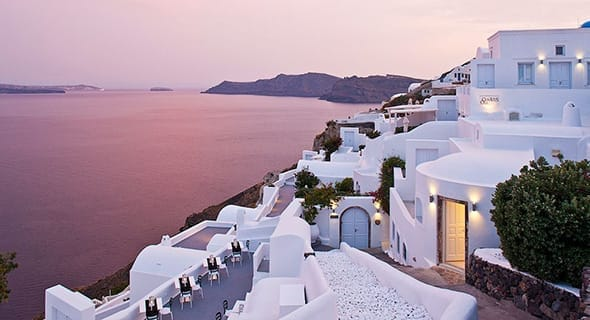 Santorini, Greece: Canaves Oia Hotel