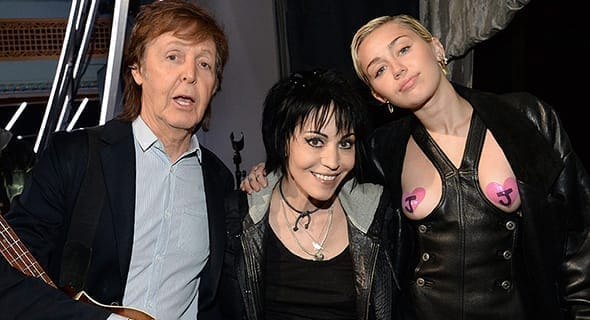 Joan Jett's Rock And Roll Hall Of Fame Induction