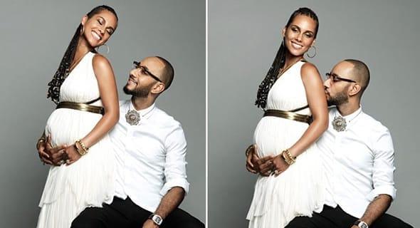 Alicia Keys & The Family Photoshoot