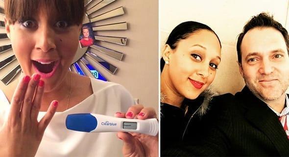 Tamera Mowry & The Pregnancy Test