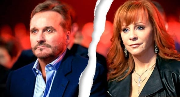 Photo of Reba McEntire and Narvel Blackstock