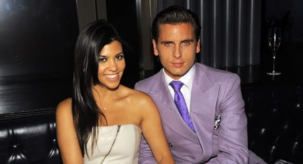Photo of Kourtney Kardashian and Scott Disick