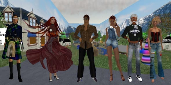 Photo of Second Life game