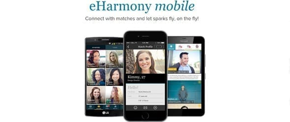Photo of eHarmony's app