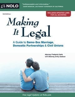 "The cover of the ""Making It Legal"" book"